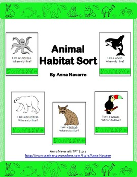 Animal Habitat Sort