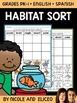 Interactive Sorting - Animal Habitat Activity