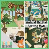 Animal Habitat Sorting Mats