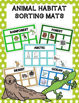 Animal Habitat Sorting Mats