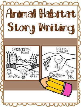 Animal Habitat Story Writing