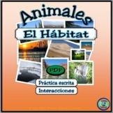 Animal Habitat Worksheet Activities / Actividades de hábit