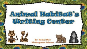 Animal Habitat Writing Center and Animal Sort