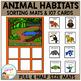 Animal Habitats Sorting Mats
