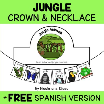 Animal Habitat Activity Crowns and Necklaces Bundle