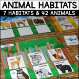 Animal Habitats for First Grade