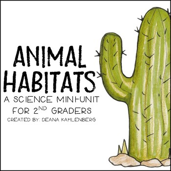animal habitats by primary punch teachers pay teachers. Black Bedroom Furniture Sets. Home Design Ideas