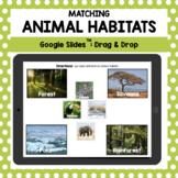 Animal Habitats: A Google Slides Matching Activity