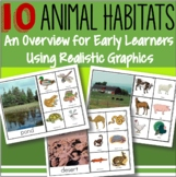 Animal Habitats: Activities for 10 Habitats Science Distance Learning