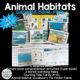 Animal Habitats Adapted Book Pack