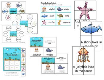 Animal Habitats Adapted Book and Activities - 4 Habitat Bundle