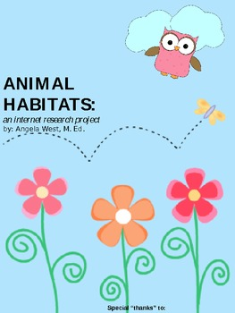 Animal Habitats: An Internet Research Project