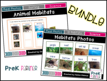 Animal Habitats {{BUNDLE }}