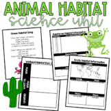 Animal Habitats Book