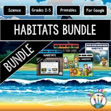 Animal Habitats Bundle with Passages, Activities & More! {Both Print & Digital}