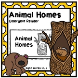 Animal Habitats Emergent Reader