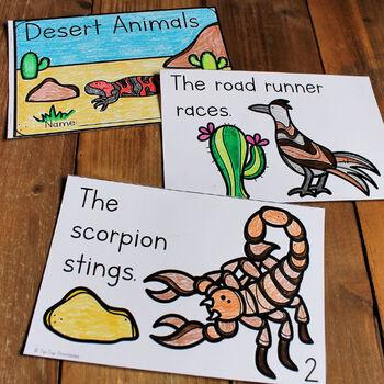 Animal Habitats Emergent Readers Bundle