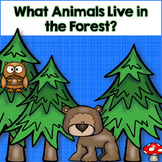 Animal Habitats-Forest Animals