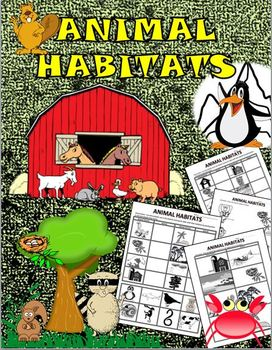 Animal Habitats Fun Activity!