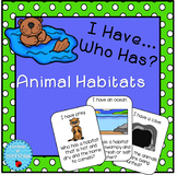Animal Habitats Game