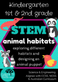 Animal Habitats STEM Unit of Work  K-2