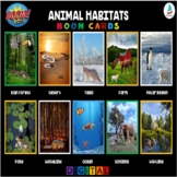 Animal Habitats Matching Game | Pre-k Kindergarten K-2 Science