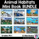 Animal Habitats Mini Book Bundle for Early Learners: Arcti