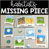Animal Habitats Missing Pieces Task Box | Task Boxes for Special Education