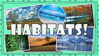 Animal Habitats PowerPoint