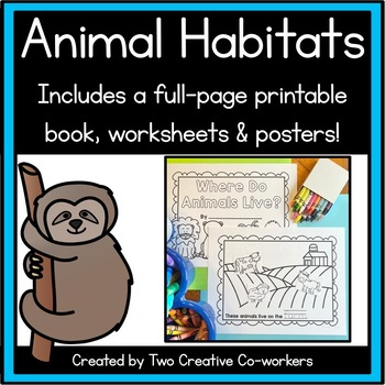 image about Animals Printable identify Animal Habitats Printable e book, sorting worksheets, posters