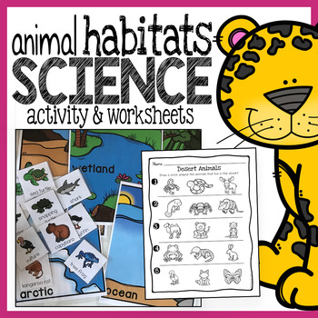 animal habitats science activity and worksheets by the super teacher. Black Bedroom Furniture Sets. Home Design Ideas