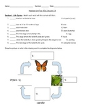 Animal Habitats Science Unit Test