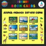 Animal Habitats Sorting Game | Pre-k Kindergarten K-2 Science