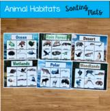 Animal Habitats Sorting Mats (w/Real Photos)