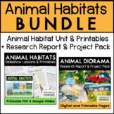 Animal Habitats {THE BUNDLE}