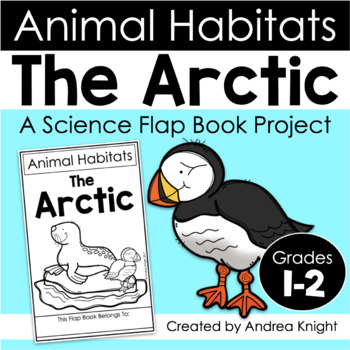 animal habitats the arctic a flap book project for grades 1 2. Black Bedroom Furniture Sets. Home Design Ideas