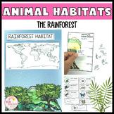 Animal Habitats The Rainforest Biome