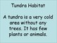 Animal Habitats: Tundra, Tropical Rain forest, Desert, and Grasslands