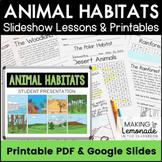 Animal Habitats Unit