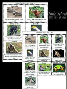 Animal Habitats - Complete No Prep Unit