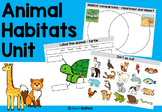 Animal Habitats worksheets