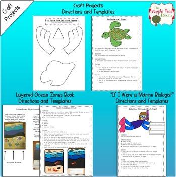 Animal Habitats Writing Bundle {Science Informative Writing + Craft Projects}