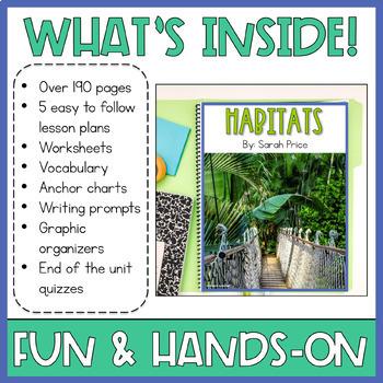 Animal Habitats and Biomes Interactive Notebook