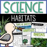 Animal Habitats and Biomes Activities