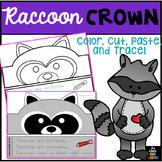 Animal Hat - Animal Crown - Raccoon Hat