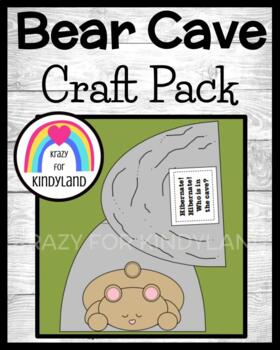 Animal Hibernation / Habitat Craft: Bear and Cave