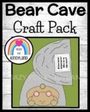Bear and Cave Craft (Animal Hibernation, Habitats)
