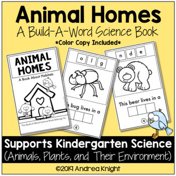 Animal Homes (A Kindergarten Science Book about Habitats)