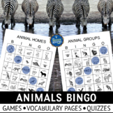 Animal Groups and Homes Game