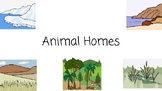 Animal Homes Concept Book